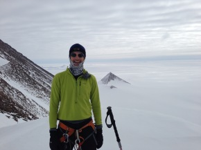 Skiing through Antarctica